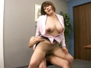 The Victim With Big Tits Sex Training